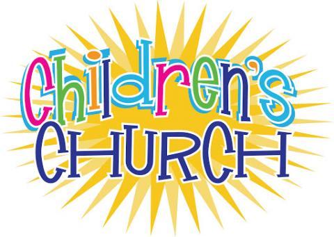 Children's Church is held on Sundays @ 10:30 am.