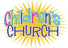 Children's Church is held on Sundays @ 10:30 am.